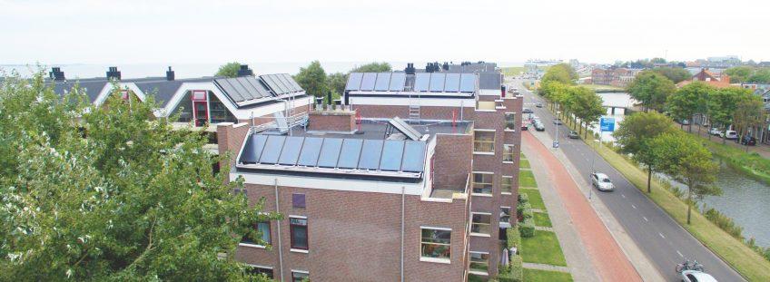 Zonnewarmte levert meeste energie per m2 op