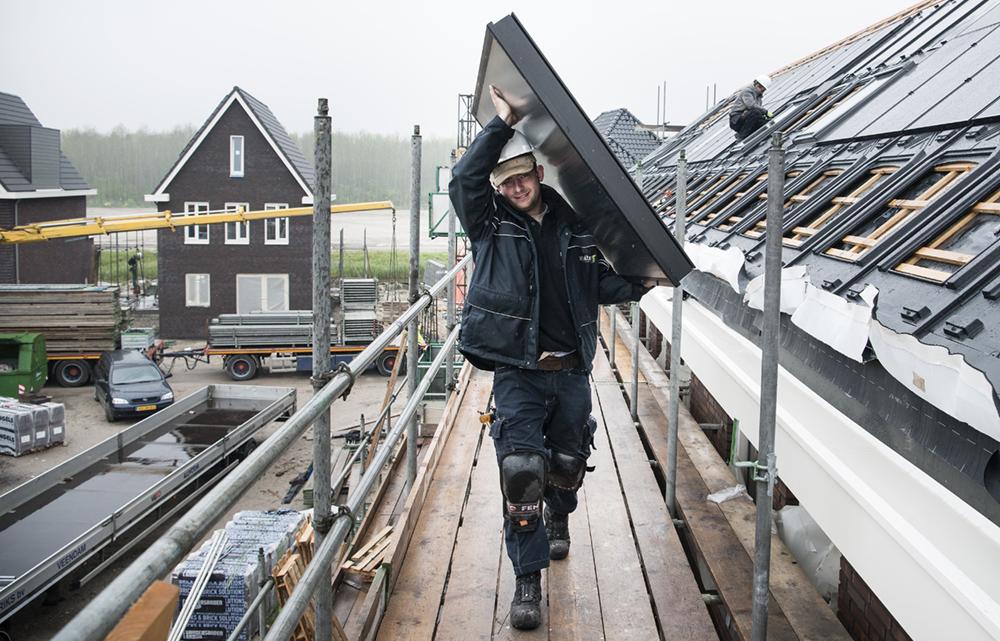 Nieuw paneel in dak - HRsolar