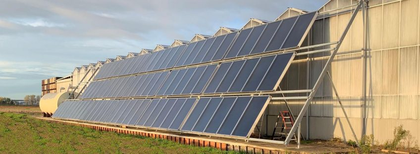 Recordhoeveelheid zonnecollectoren geïnstalleerd